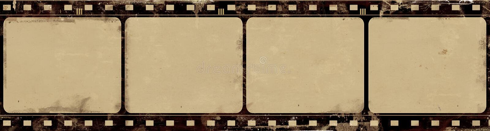 Download Grunge Film Frame With Space For Text Or Image Royalty Free Stock Image - Image: 29680376