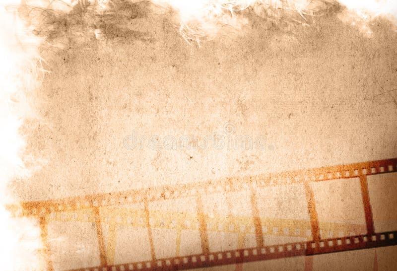 Grunge Film-Streifenhintergründe vektor abbildung