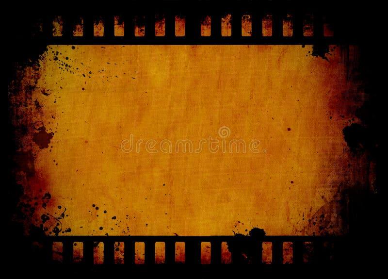 Grunge film strip royalty free illustration