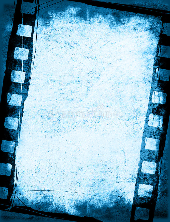 Grunge film strip backgrounds stock photos