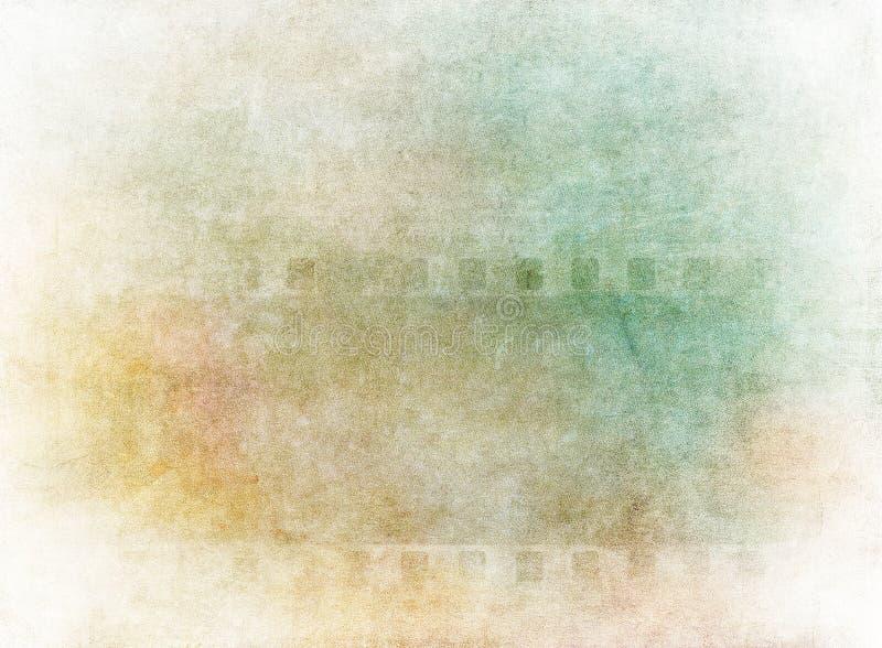 Grunge filmbakgrund stock illustrationer
