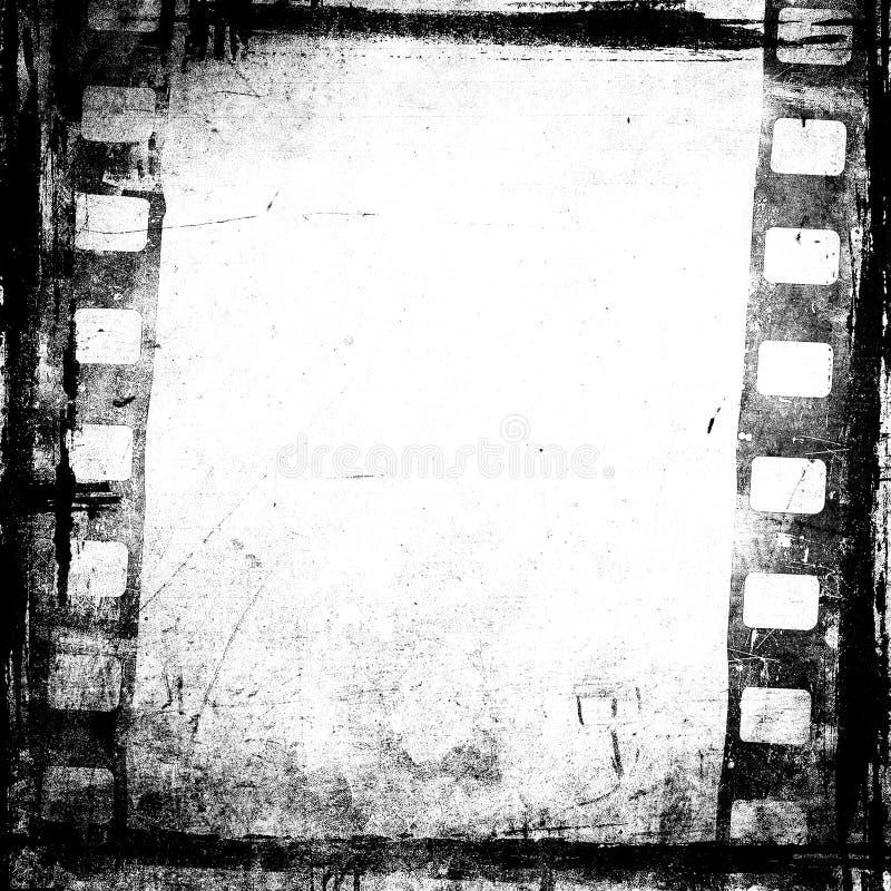 Grunge filmbakgrund royaltyfri illustrationer