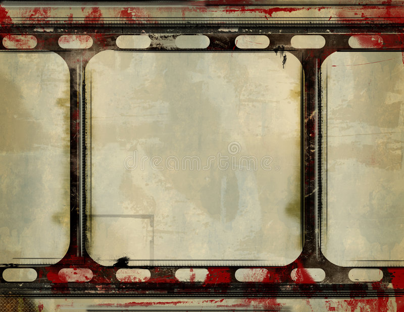 Grunge Filmfeld vektor abbildung