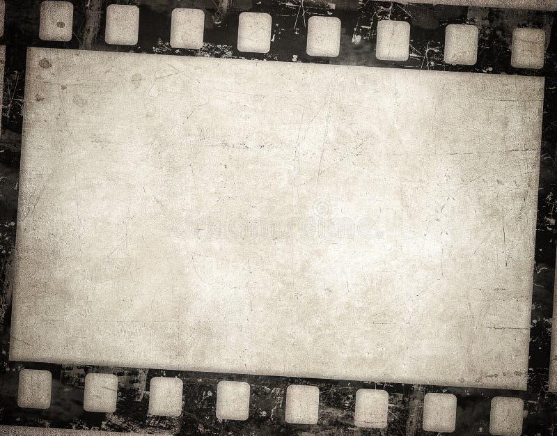 Grunge Filmhintergrund Nette Weinlesebeschaffenheit mit Raum für Text stock abbildung