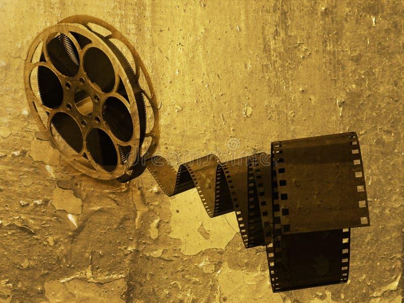 Grunge Filmstreifen vektor abbildung
