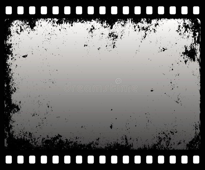 Grunge filmstrip stock illustration