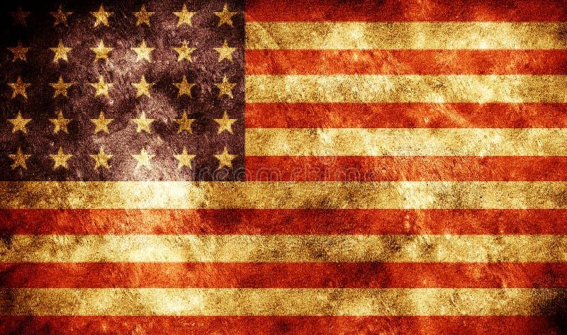 Download Grunge flag stock photo. Image of manuscript, american - 8075662