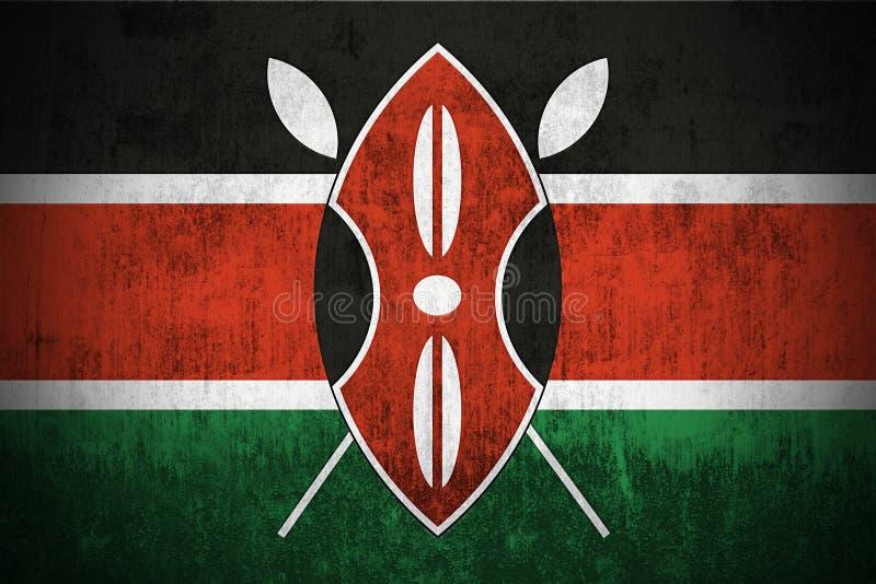 Grunge Flag Of Kenya Stock Photos