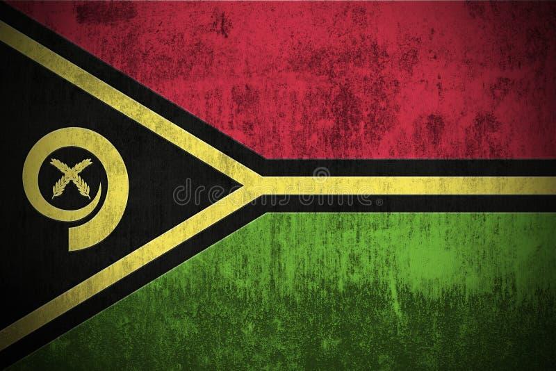 Download Grunge Flag Of Vanuatu stock illustration. Illustration of patriotism - 6270117