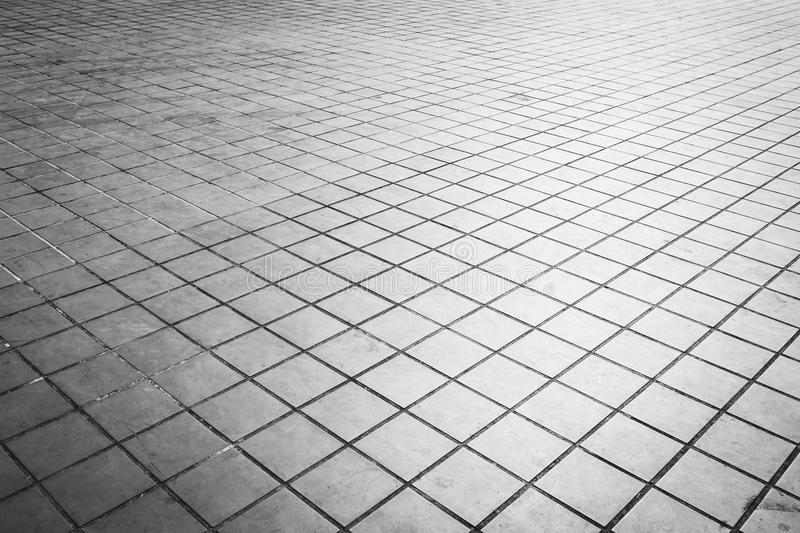 Grunge floor tiles and square shape texture. And background royalty free stock image