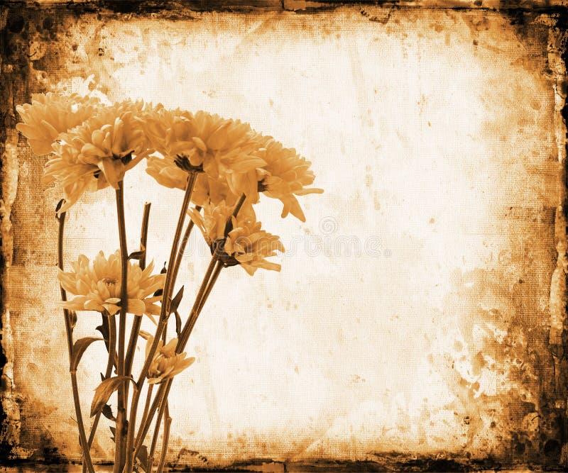 Download Grunge floral stock de ilustración. Ilustración de grunge - 1285718