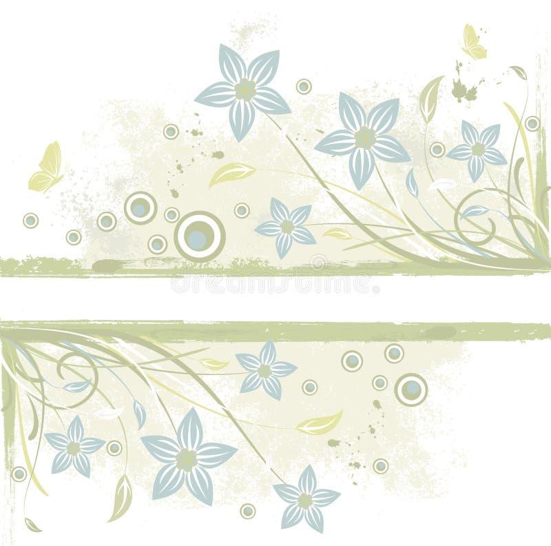 Download Grunge floral  background stock vector. Illustration of decoration - 25369563