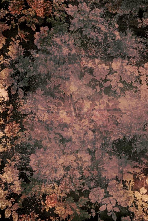 Download Grunge floral pattern stock photo. Image of rose, worn - 13268836