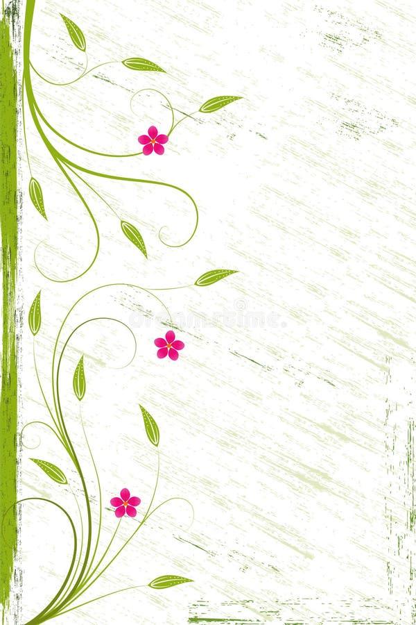 Free Grunge Flower Background Royalty Free Stock Photos - 14570498