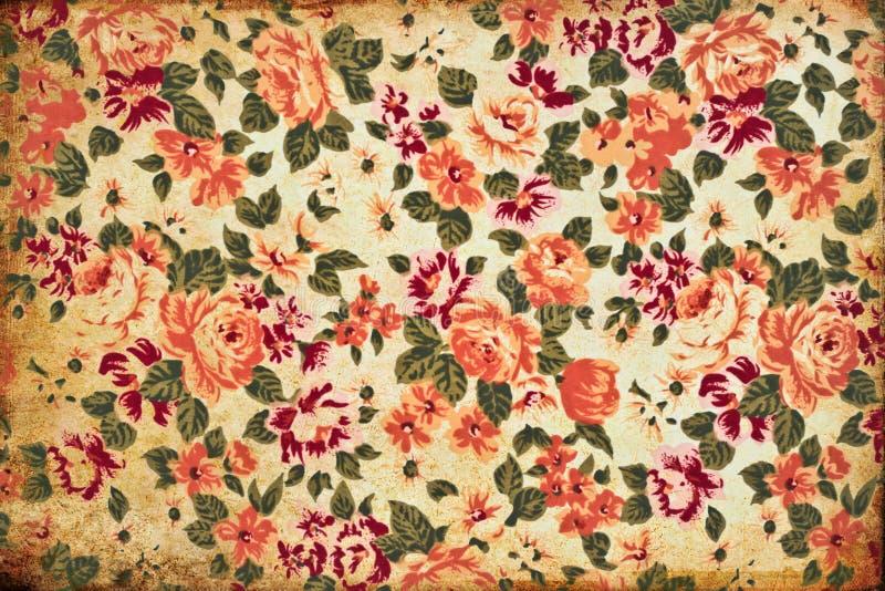 Grunge flower wallpaper. For background stock images