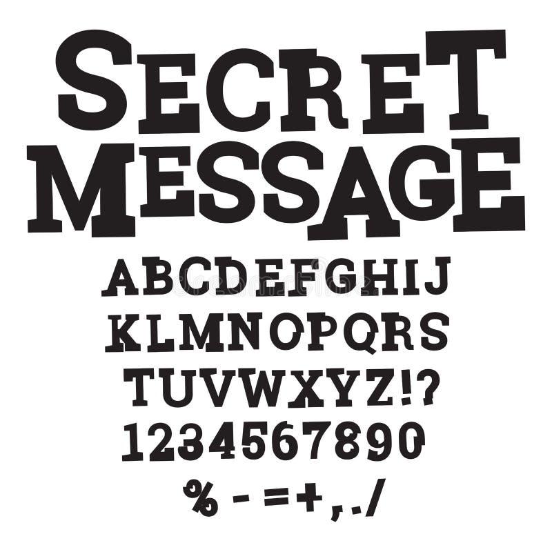 Grunge font alphabet. vector illustration