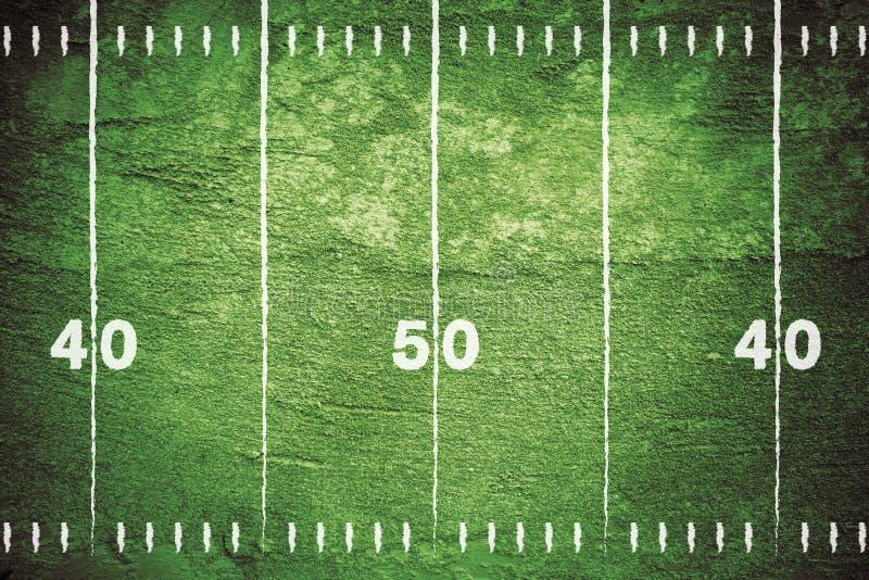 Grunge Football Field stock illustration