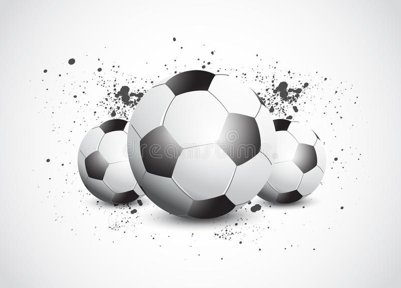 Download Grunge Football Soccer stock vector. Image of banner - 26284970