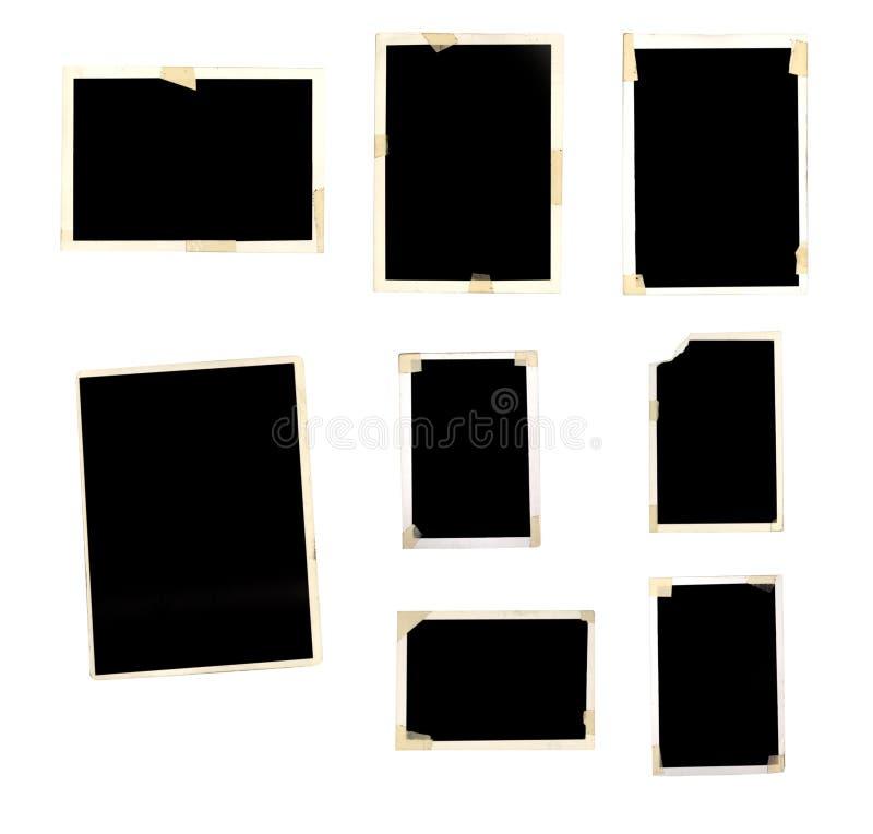 Grunge Foto-Felder lizenzfreies stockfoto