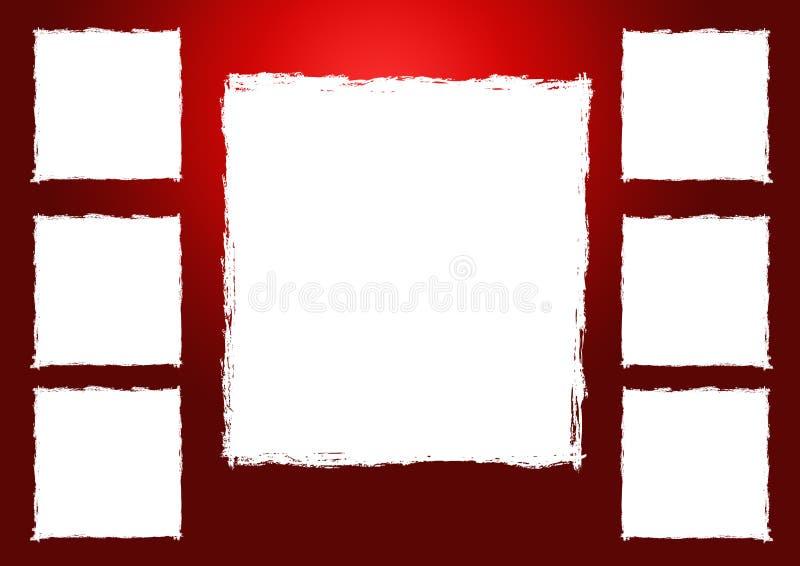 Grunge Fotofeld vektor abbildung