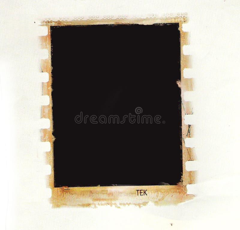 Grunge Fotorand lizenzfreie abbildung