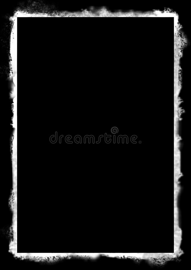 Grunge frame stock illustration