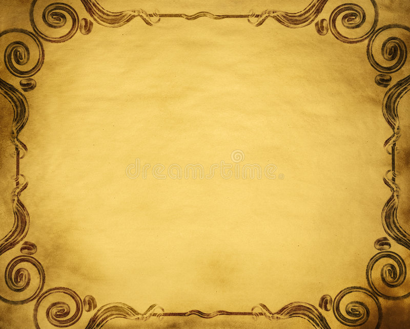 Grunge frame. With space for text or image royalty free stock photography