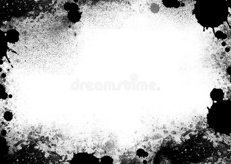 Grunge frame. Overlay, painted texture stock images