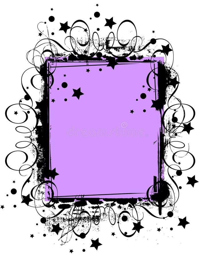 Download Grunge frame stock vector. Image of ornament, crude, illustration - 19793940