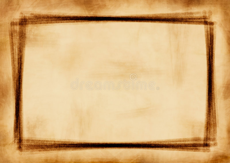 Grunge frame royalty free stock photo