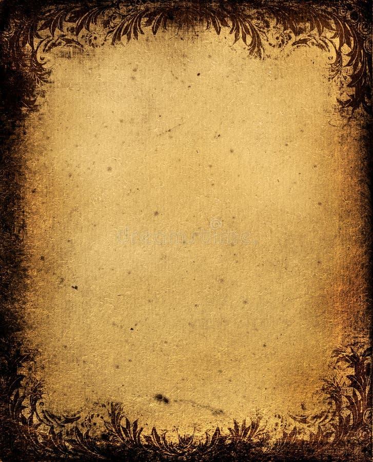 Grunge frame royalty free stock photography