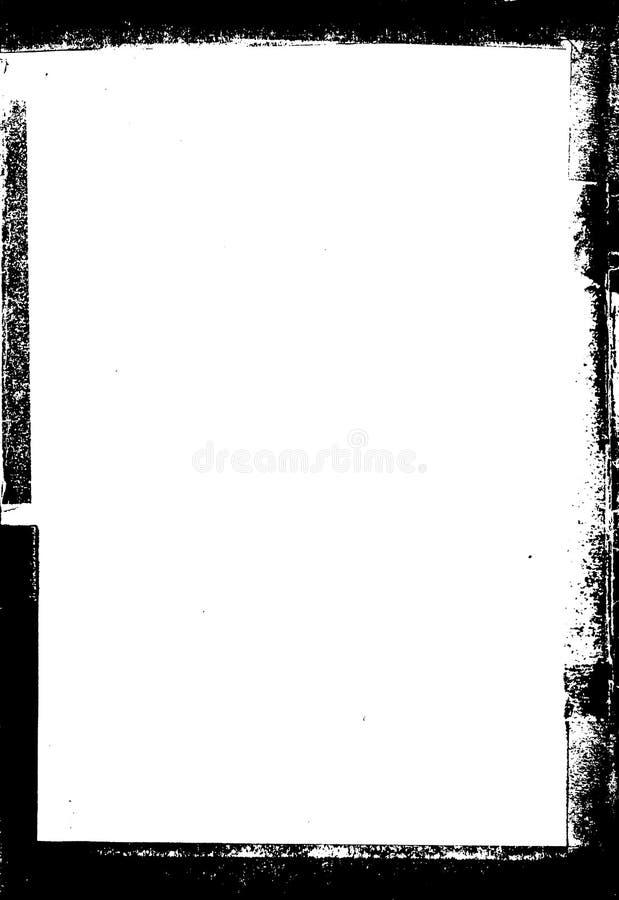 Grunge Frame. Black & white vector grunge frame