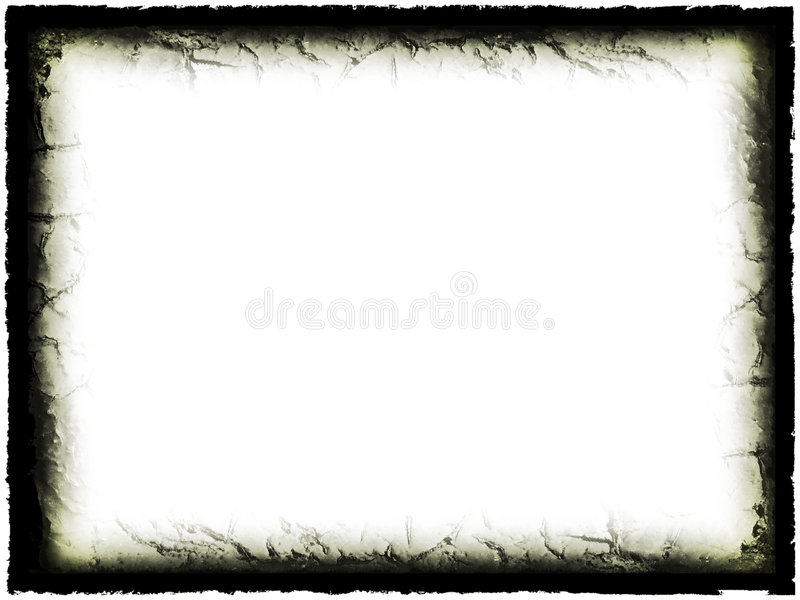 Grunge Frame royalty free illustration