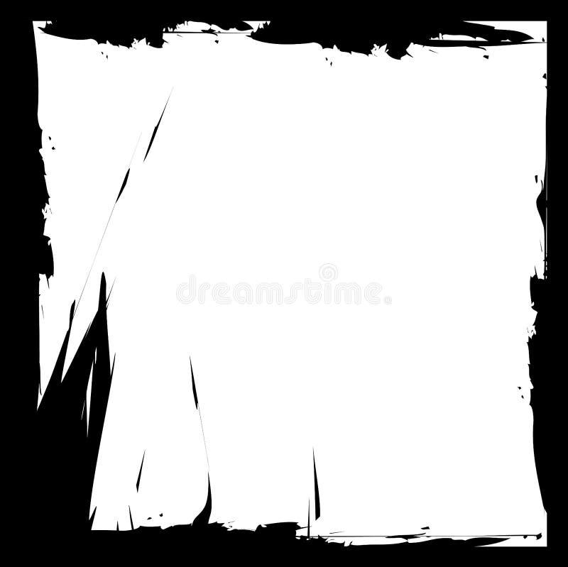 grunge frame royalty-vrije illustratie
