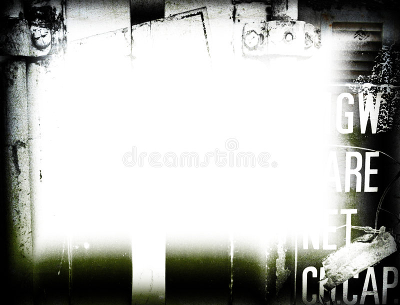 Grunge Frame. For background royalty free stock images