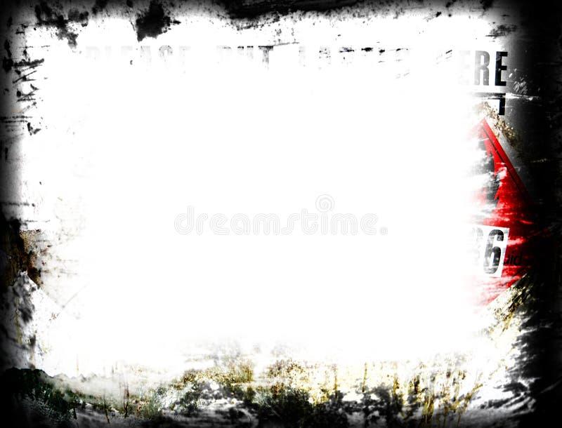 Download Grunge Frame Stock Image - Image: 501201