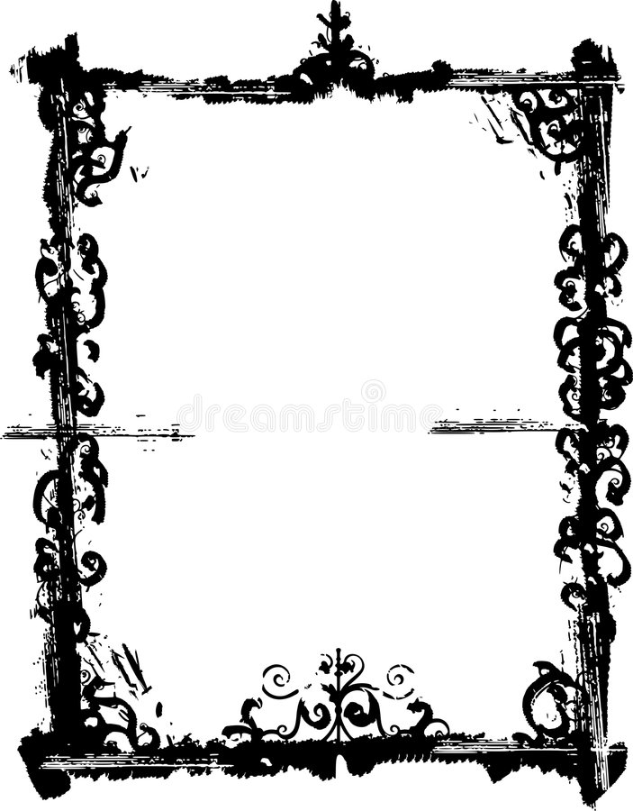 Grunge Frame And Border Series Royalty Free Stock Photography