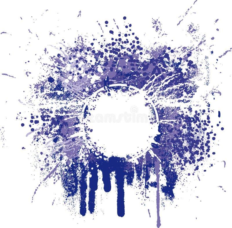 Grunge frame II royalty free illustration
