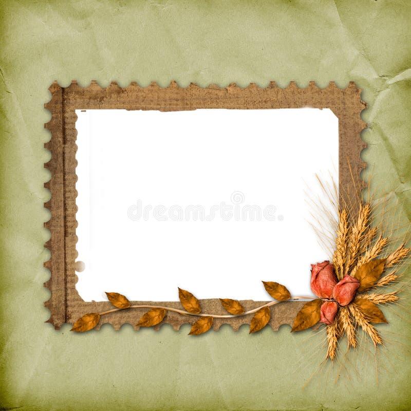 Free Grunge Frame In Scrapbooking Royalty Free Stock Photos - 11373998