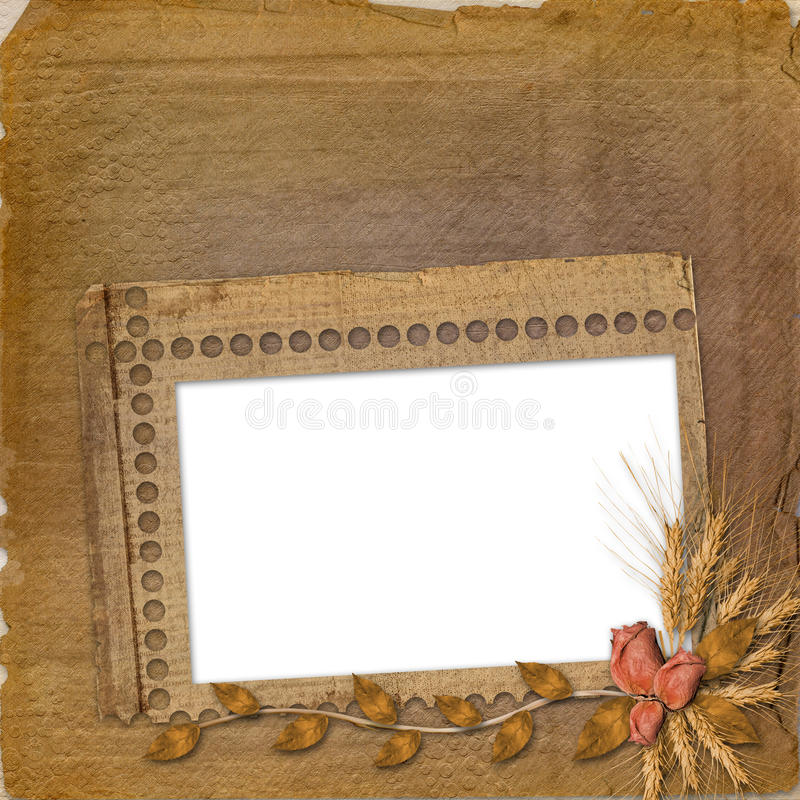 Free Grunge Frame In Scrapbooking Style Stock Images - 11374014