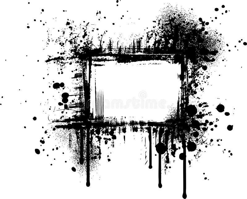 Grunge frame IV vector illustration