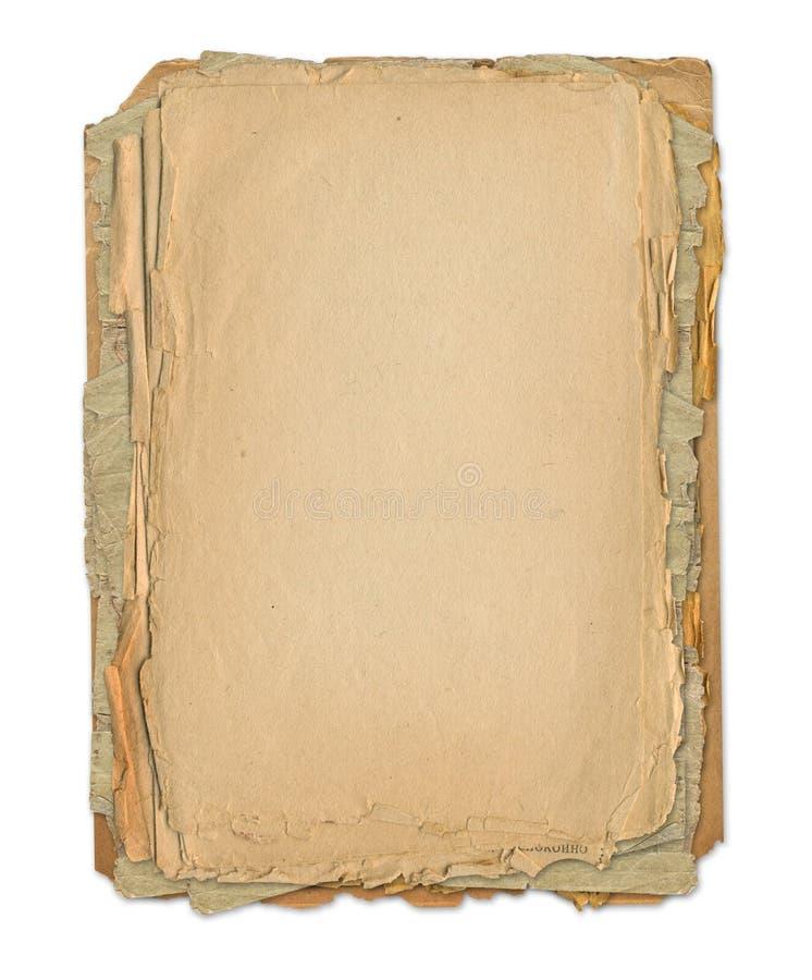 Download Grunge Frame For Old Portrait Or Picture Stock Illustration - Illustration: 8563757