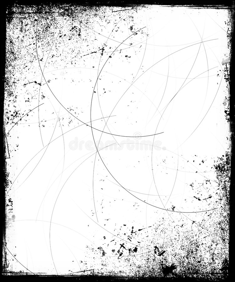 Download Grunge Frame With Scratches Stock Illustration - Illustration of circles, dirty: 1651486