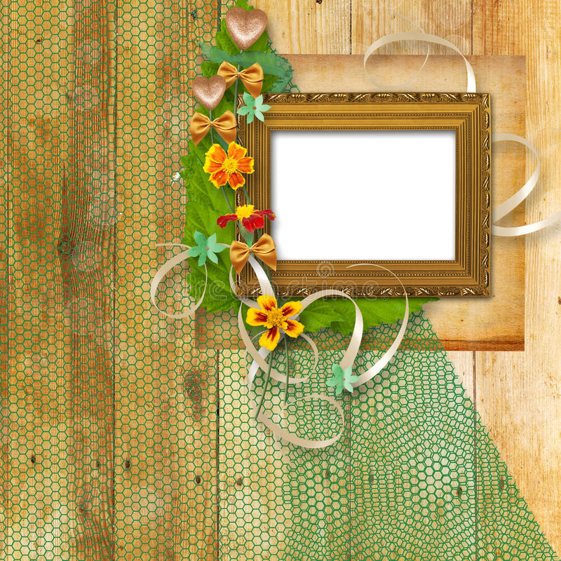 Download Grunge Frame In The Victorian Style Stock Illustration - Image: 14319529
