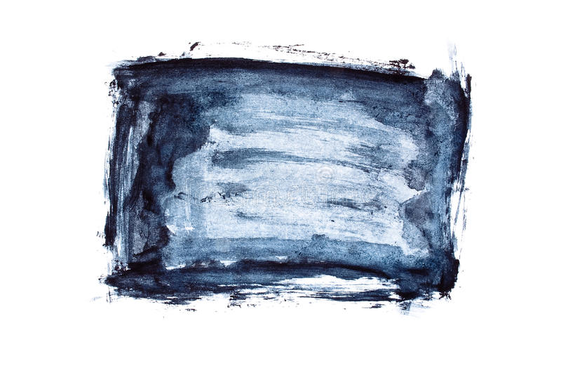 Grunge frame. On white background stock image