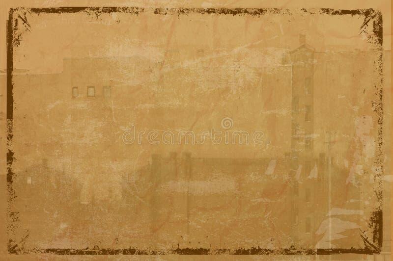 Grunge framed background royalty free illustration
