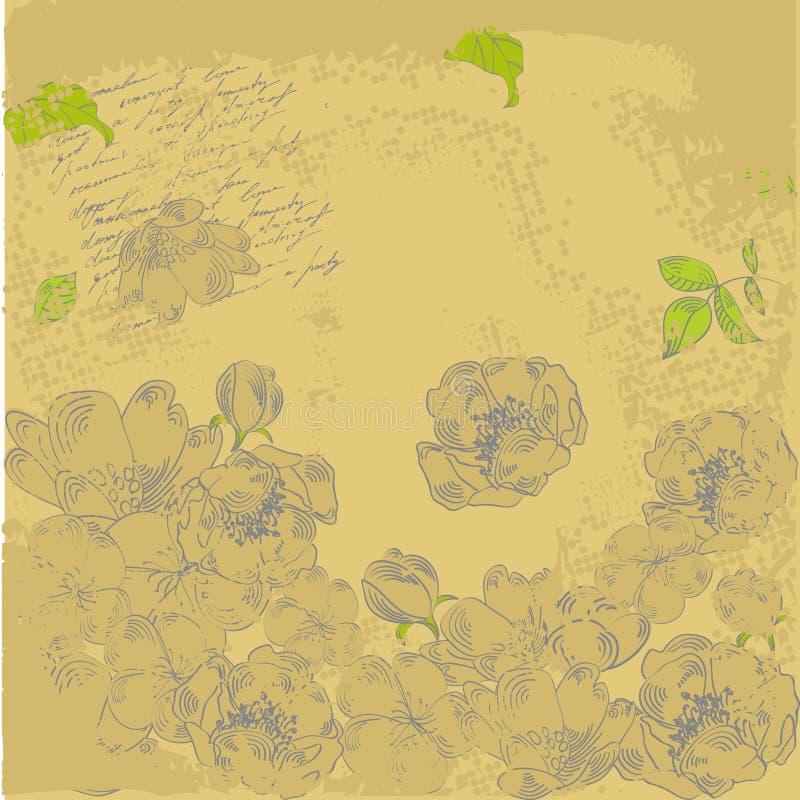 Download Grunge, Fundo Estilizado Retro Ilustração do Vetor - Ilustração de fundo, desenho: 12811733