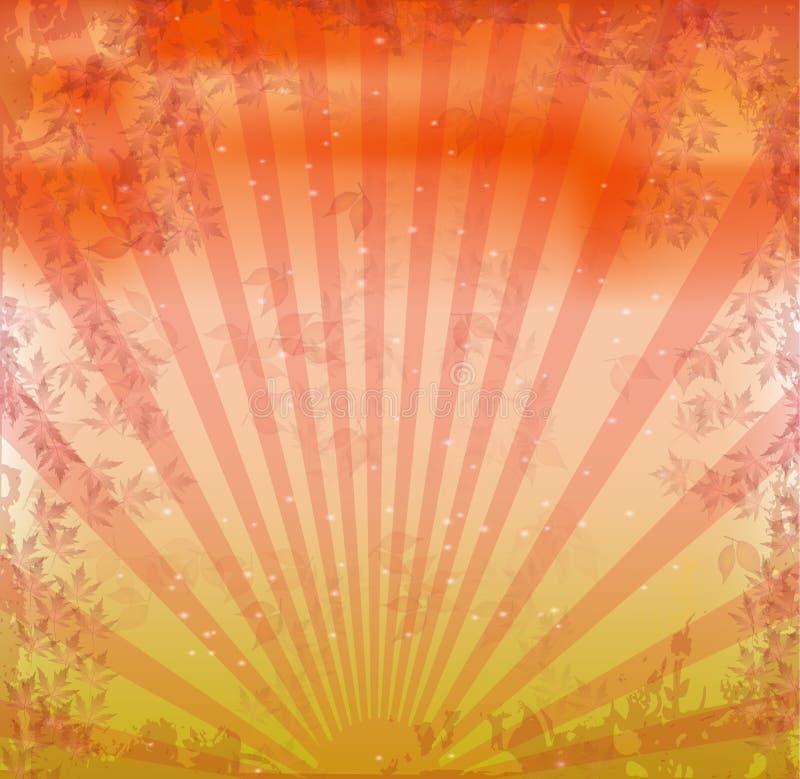 Grunge, fundo retro ilustração royalty free