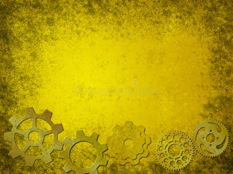 Download Grunge Gears Background Stock Photo - Image: 2628290