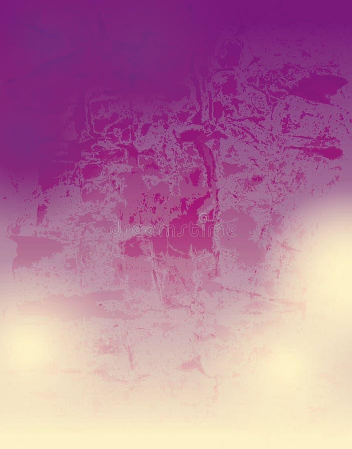 Grunge geweven vectorachtergrond royalty-vrije illustratie